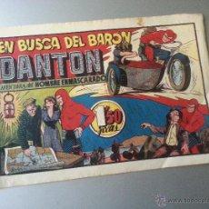 Tebeos: HOMBRE ENMASCARADO EN BUSCA DEL BARON DANTON HISPANO AMERICANA ORIGINAL. Lote 54673670