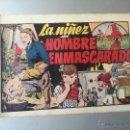 Tebeos: LA NIÑEZ DEL HOMBRE ENMASCARADO HISPANO AMERICANA ORIGINAL 1940. Lote 54674020