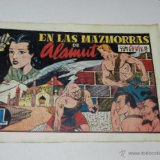 Tebeos: (M1) CARLOS EL INTREPIDO NUM 23 - EN LAS MAZMORRAS DE , HISPANO AMERICANA 1942, SEÑALES DE USO . Lote 54676663