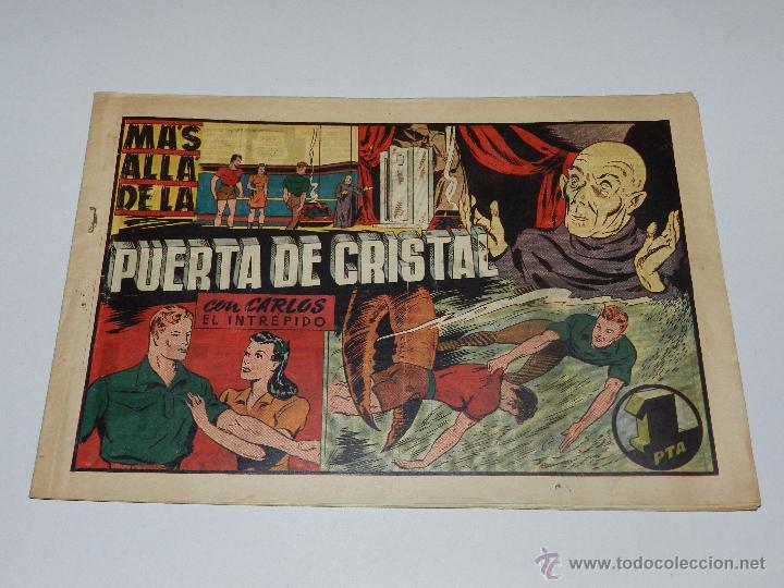 (M1) CARLOS EL INTREPIDO NUM 25 - MAS ALLA DE LA PUERTA , HISPANO AMERICANA 1942, SEÑALES DE USO (Tebeos y Comics - Hispano Americana - Carlos el Intrépido)