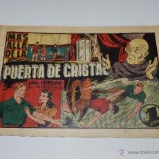 Tebeos: (M1) CARLOS EL INTREPIDO NUM 25 - MAS ALLA DE LA PUERTA , HISPANO AMERICANA 1942, SEÑALES DE USO . Lote 54676728