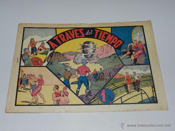 (M1) CARLOS EL INTREPIDO NUM 12 A TRAVES DEL TIEMPO , HISPANO AMERICANA 1942, SEÑALES DE USO (Tebeos y Comics - Hispano Americana - Carlos el Intrépido)