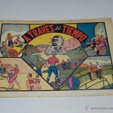 Tebeos: (M1) CARLOS EL INTREPIDO NUM 12 A TRAVES DEL TIEMPO , HISPANO AMERICANA 1942, SEÑALES DE USO. Lote 54767505