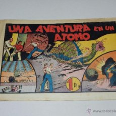 Tebeos: (M1) CARLOS EL INTREPIDO NUM 13 UNA AVENTURA EN UN ATOMO , HISPANO AMERICANA 1942, SEÑALES DE USO. Lote 54767589