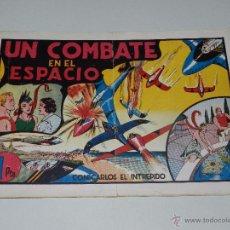 Tebeos: (M1) CARLOS EL INTREPIDO NUM 14 UN COMBATE EN EL ESPACIO , HISPANO AMERICANA 1942, SEÑALES DE USO. Lote 54767662