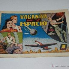Tebeos: (M1) CARLOS EL INTREPIDO NUM 20 VAGANDO POR EL ESPACIO , HISPANO AMERICANA 1942, SEÑALES DE USO. Lote 54767679