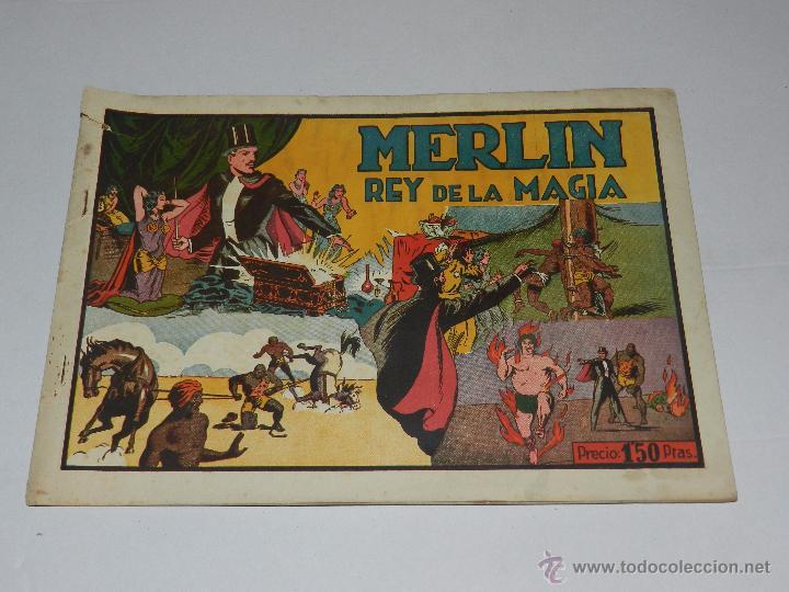 (M1) MERLIN EL REY DE LA MAGIA NUM 5 MERLIN EL REY DE LA MAGIA, HISPANO AMERICANA (Tebeos y Comics - Hispano Americana - Merlín)