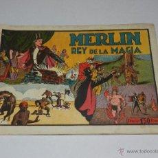 Tebeos: (M1) MERLIN EL REY DE LA MAGIA NUM 5 MERLIN EL REY DE LA MAGIA, HISPANO AMERICANA. Lote 54829560