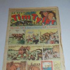 Tebeos: (M3) TIM TYLER AÑO I NUM 2 , HISPANO AMERICA , SEÑALES DE USO. Lote 54909744
