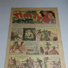 Tebeos: (M3) TIM TYLER AÑO I NUM 10 , HISPANO AMERICA , SEÑALES DE USO. Lote 54909769