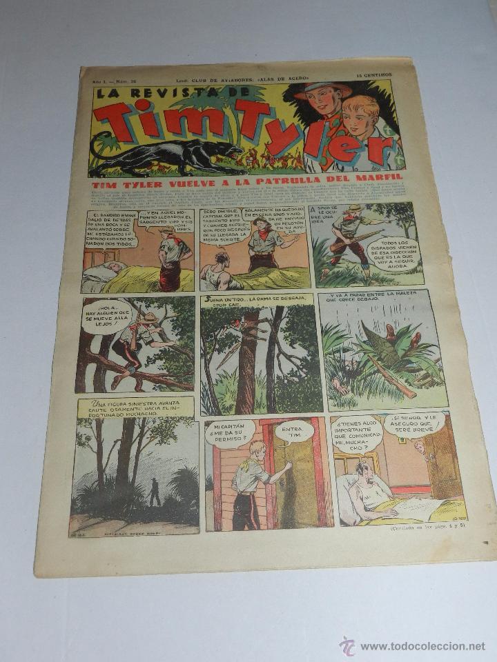 (M3) TIM TYLER AÑO I NUM 26 , HISPANO AMERICA , SEÑALES DE USO (Tebeos y Comics - Hispano Americana - Tim Tyler)