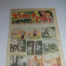 Tebeos: (M3) TIM TYLER AÑO I NUM 26 , HISPANO AMERICA , SEÑALES DE USO. Lote 54909803