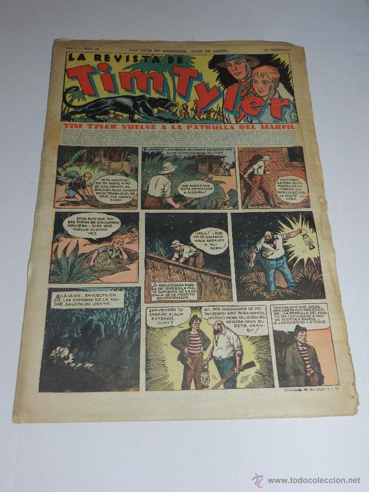 (M3) TIM TYLER AÑO I NUM 29 , HISPANO AMERICA , SEÑALES DE USO (Tebeos y Comics - Hispano Americana - Tim Tyler)