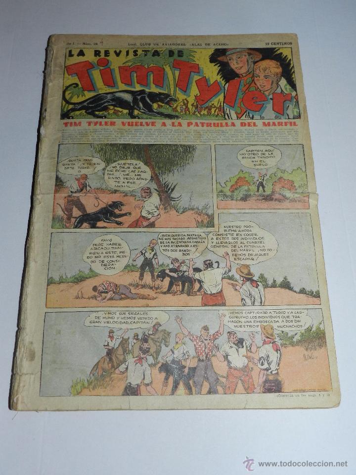 (M3) TIM TYLER TOMO ENCUADERNADO DEL NUM 28 AL NUM 64 TODOS LOS NUMEROS SEGUIDOS (Tebeos y Comics - Hispano Americana - Tim Tyler)
