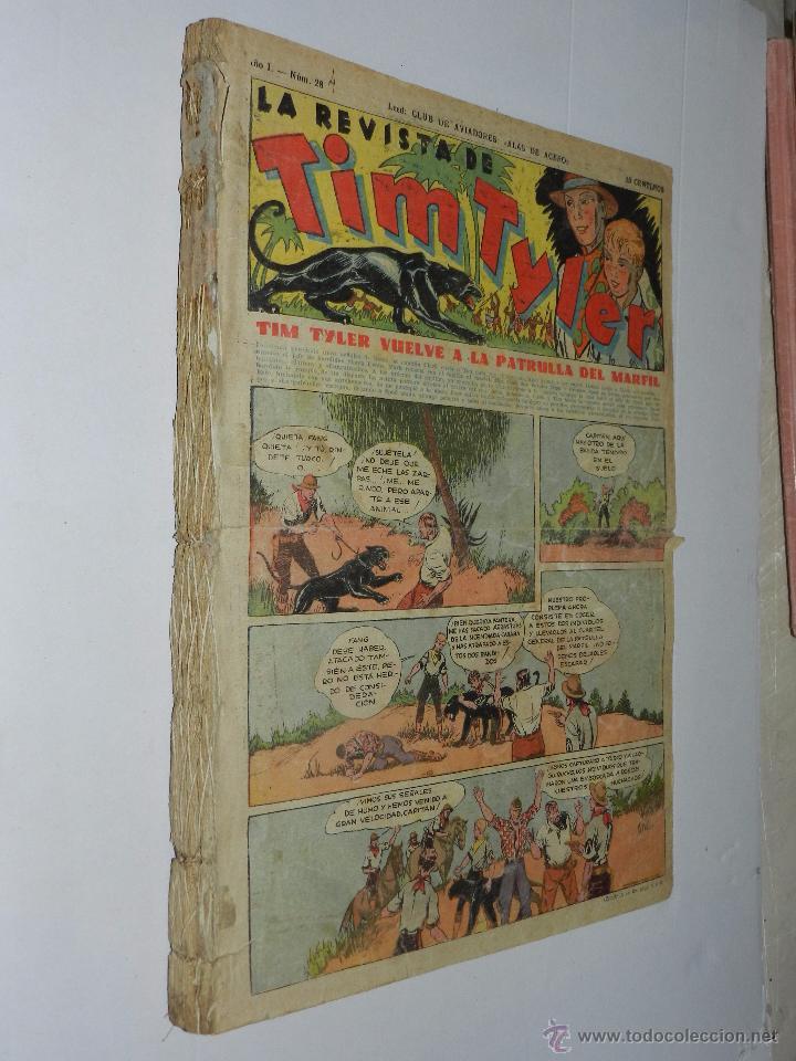 Tebeos: (M3) TIM TYLER TOMO ENCUADERNADO DEL NUM 28 AL NUM 64 TODOS LOS NUMEROS SEGUIDOS - Foto 2 - 54909887