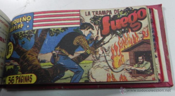 Tebeos: EL PEQUEÑO SHERIFF, ENCUADERNADO, 25 TEBEOS ORIGINALES, HISPANO AMERICANA, ZUFFI, T. TORELLI, LLEVA - Foto 5 - 54943988