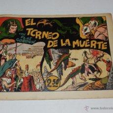 Tebeos: (M1) FLASH GORDON NUM 3 , 2,5 PTAS , EL TORNEO DE LA MUERTE, HISPANO AMERICANA 1942. Lote 54951393