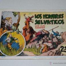Tebeos: (M1) FLASH GORDON NUM 7 , 2,5 PTAS , LOS HOMBRES SELVATICOS , HISPANO AMERICANA 1942. Lote 54951445