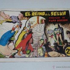 Tebeos: (M1) FLASH GORDON NUM 8 , 2,5 PTAS , EL REINO DE LA SELVA , HISPANO AMERICANA 1942. Lote 54951534