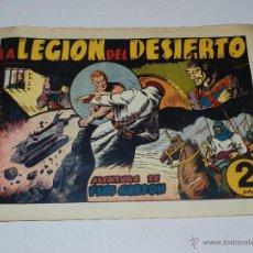 Tebeos: (M1) FLASH GORDON NUM 9 , 2 PTAS , LA LEGION DEL DESIERTO , HISPANO AMERICANA 1942. Lote 54951555