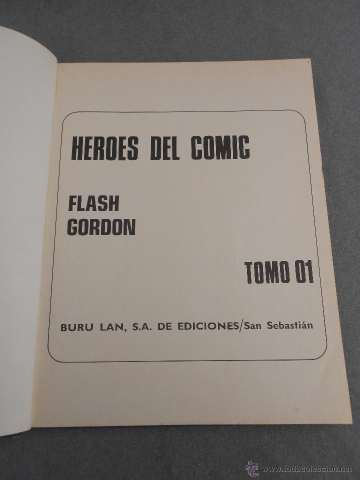 Tebeos: FLASH GORDON. EL RAYO CELESTE - Foto 2 - 55080202