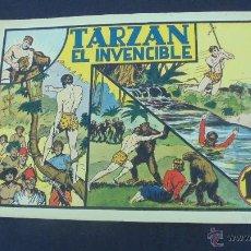 Tebeos: TARZAN EL INVENCIBLE - HISPANO AMERICANA - ORIGINAL - . Lote 55080320