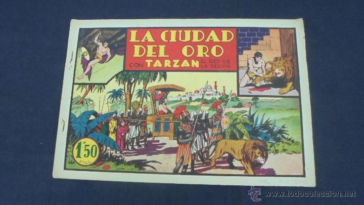 TARZAN - LA CIUDAD DEL ORO - HISPANO AMERICANA - ORIGINAL - (Tebeos y Comics - Hispano Americana - Tarzán)