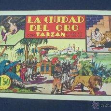 Tebeos: TARZAN - LA CIUDAD DEL ORO - HISPANO AMERICANA - ORIGINAL - . Lote 55080386