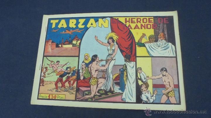 TARZAN - EL HEROE DE TAANOR - HISPANO AMERICANA - ORIGINAL - (Tebeos y Comics - Hispano Americana - Tarzán)