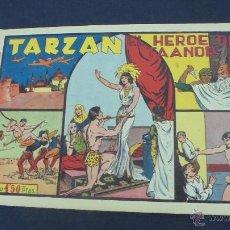 Tebeos: TARZAN - EL HEROE DE TAANOR - HISPANO AMERICANA - ORIGINAL - . Lote 55080481
