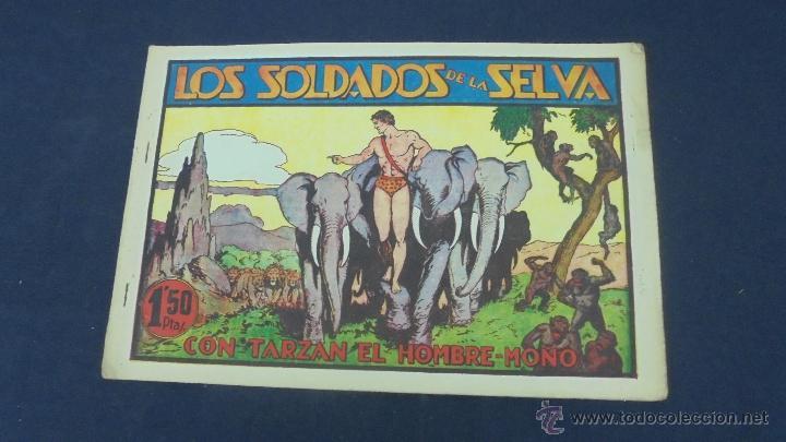 TARZAN - LOS SOLDADOS DE LA SELVA - HISPANO AMERICANA - ORIGINAL - (Tebeos y Comics - Hispano Americana - Tarzán)