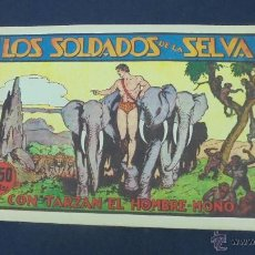 Tebeos: TARZAN - LOS SOLDADOS DE LA SELVA - HISPANO AMERICANA - ORIGINAL - . Lote 55080541