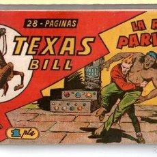 Tebeos: Nº 3 TEXAS BILL (HISPANO AMERICANA 1949). CUADERNOS ORIGINALES. Lote 55145544