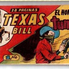 Tebeos: Nº 4 TEXAS BILL (HISPANO AMERICANA 1949). CUADERNOS ORIGINALES. Lote 55145550