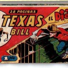 Tebeos: Nº 12 TEXAS BILL (HISPANO AMERICANA 1949). CUADERNOS ORIGINALES. Lote 55145569