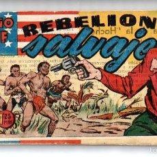 Tebeos: Nº 8 EL PEQUEÑO SHERIFF (HISPANO AMERICANA 1948). CUADERNOS ORIGINALES. Lote 55145856