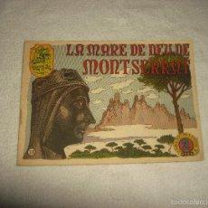 Tebeos: HISTORIA I LLEGENDA . N. 23 , LA MARE DE DEU DE MONTSERRAT. Lote 55306160