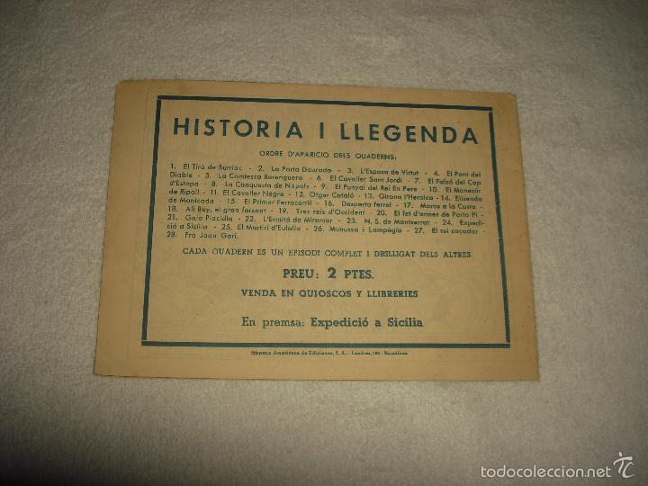 Tebeos: HISTORIA I LLEGENDA . N. 23 , LA MARE DE DEU DE MONTSERRAT - Foto 2 - 55306160