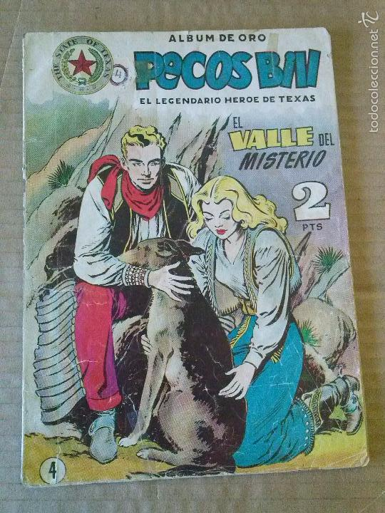 PECOS BILL Nº 4 - HISPANO AMERICANA , ORIGINAL , - EST. MA. (Tebeos y Comics - Hispano Americana - Otros)