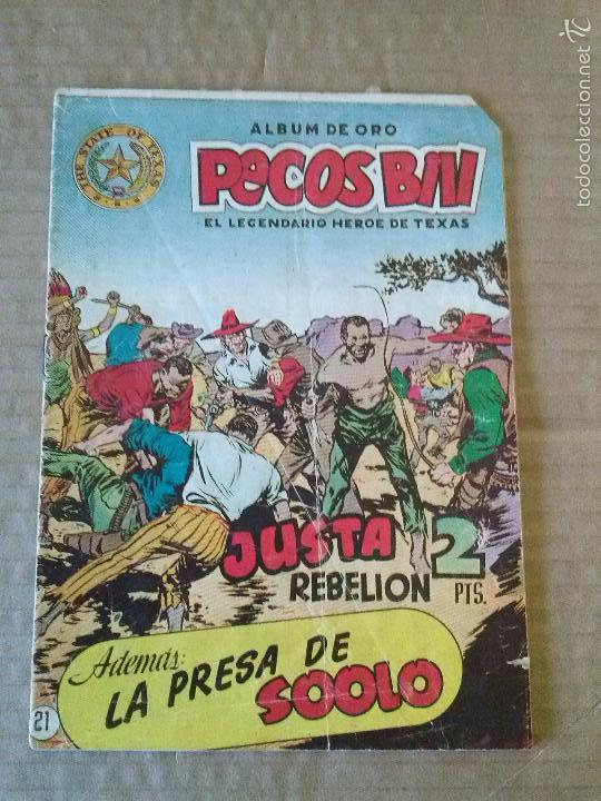 PECOS BILL Nº 21 - HISPANO AMERICANA , ORIGINAL , TA (Tebeos y Comics - Hispano Americana - Otros)