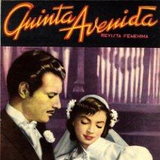 Livros de Banda Desenhada: QUINTA AVENIDA Nº 20 (ÚLTIMO Nº) HISPANO AMERICANA, 1952. FOTONOVELA. Lote 55702022