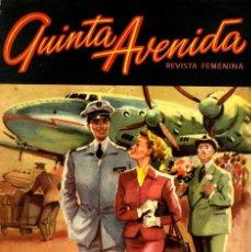 Livros de Banda Desenhada: QUINTA AVENIDA Nº 9 ( HISPANO AMERICANA, 1952). FOTONOVELA. PORTADA LOZANO OLIVARES. Lote 55702043