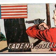 BDs: Nº 47 EL PEQUEÑO SHERIFF (HISPANO AMERICANA 1948). CUADERNOS ORIGINALES. Lote 55820780