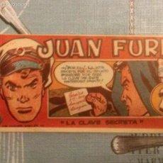 Tebeos: JUAN FURIA Nº7 ORIGINAL. Lote 55866898