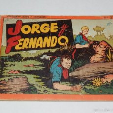 Tebeos: (M3) JORGE Y FERNANDO NUM 2 ROJO , HISPANO AMERICANA. Lote 55933506