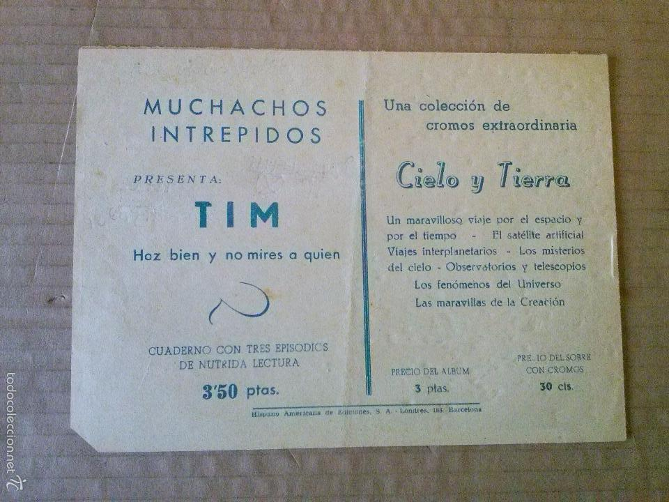 Tebeos: pin el trotamundos - n 7 - original - hispano americana - bien - ta - Foto 2 - 56098409