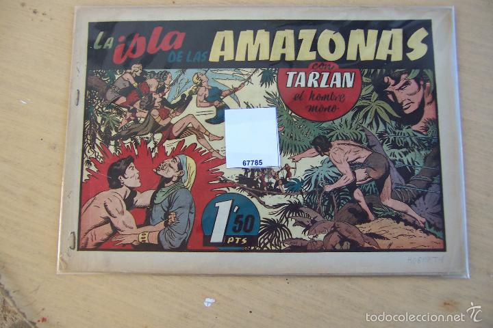 Tebeos: hispano americana - colección de tarzán, años 40, ver interior, - Foto 73 - 26004502