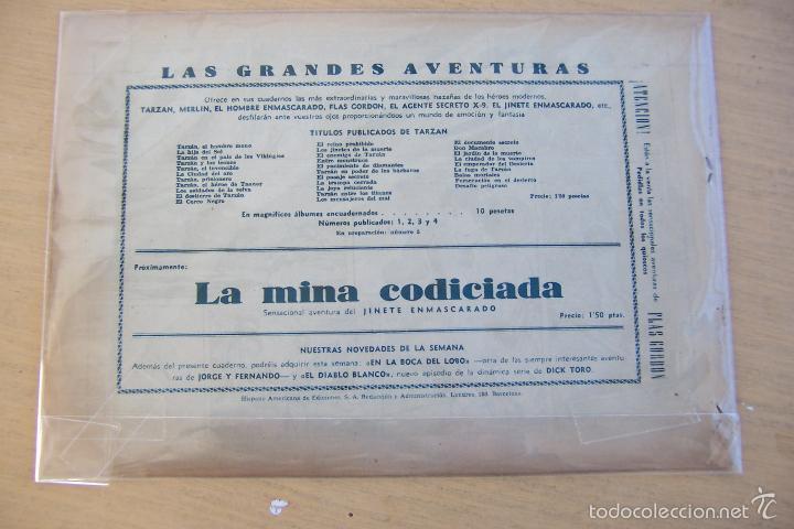 Tebeos: hispano americana - colección de tarzán, años 40, ver interior, - Foto 74 - 26004502