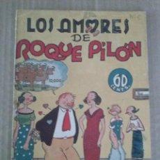 Tebeos: POPEYE Y LOS AMORES DE ROQUE PILON Nº 5 - HISPANO AMERICANA - ORIGINAL -TA. Lote 56258870