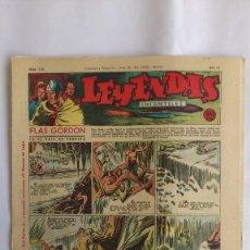 Tebeos: LEYENDAS INFANTILES, AÑO III - Nº 116. Lote 56325577